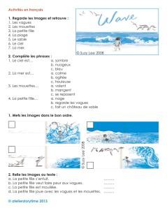 cliquez ici pour les activités en français