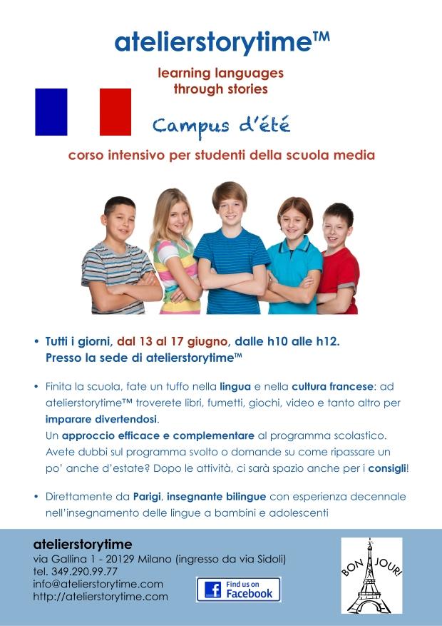 campus d'été-poster