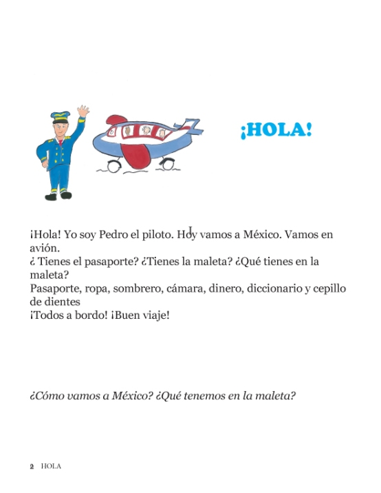HOLA Let's Learn Spanish Spanish Version04