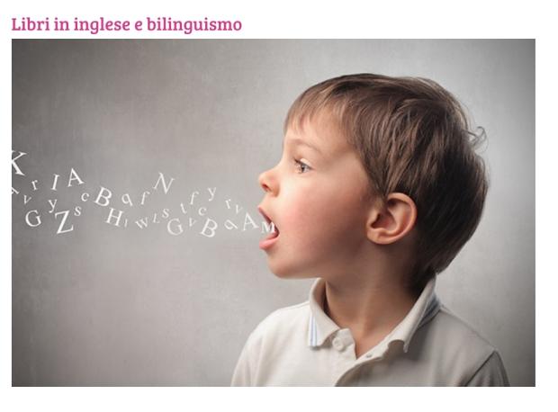 LIbri in inglese e bilinguismo