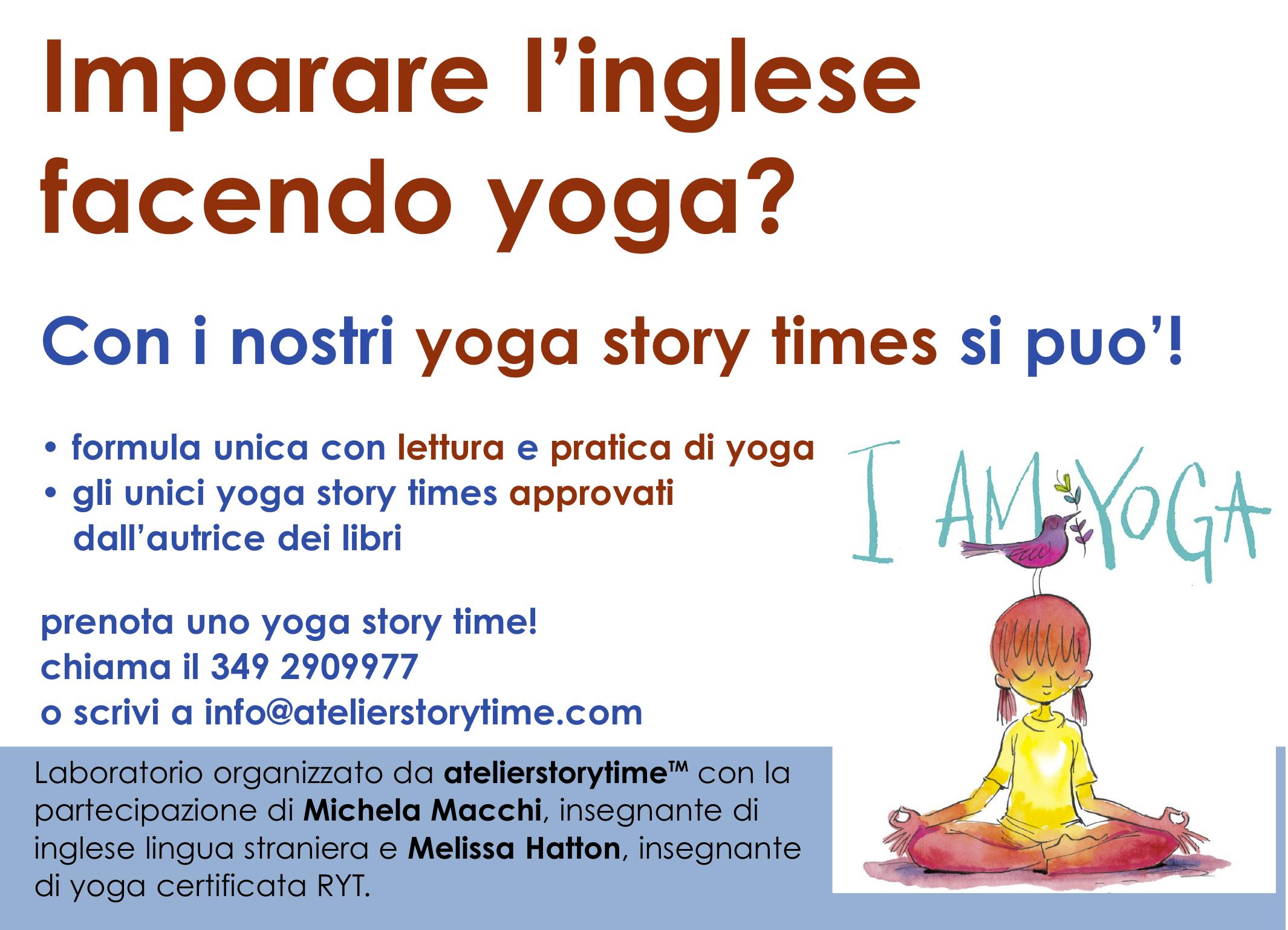 yoga story times-cartello