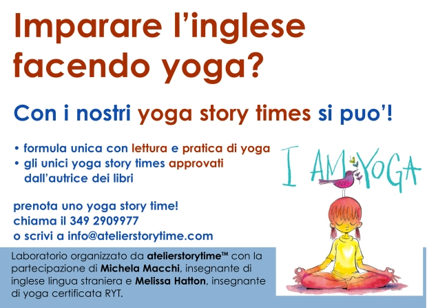 yoga story times-cartello
