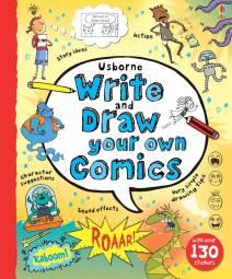 WriteandDrawYourOwnComics-cover