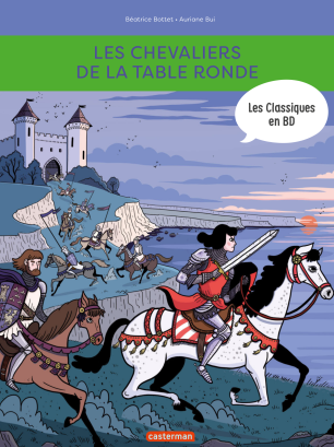 Les chevaliers de la table ronde-BD-cover