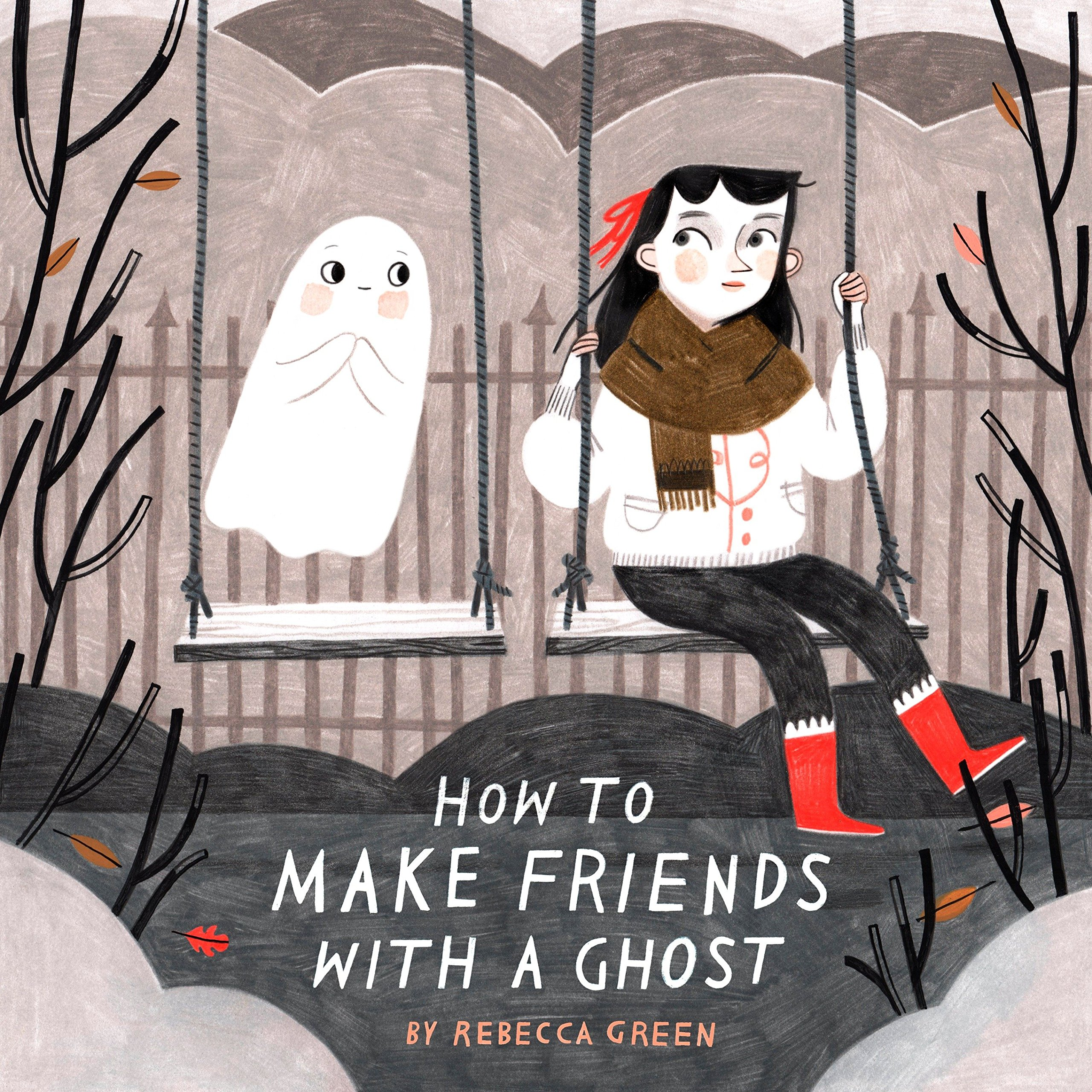 How to Make Friends with a Ghost-cover