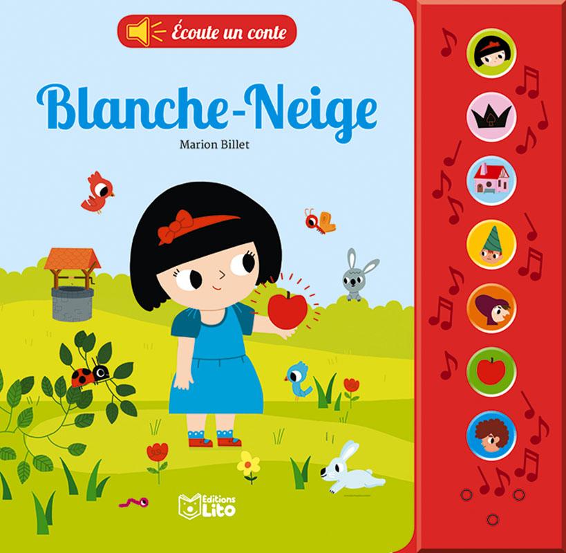 Ecoute un conte-BlancheNeige-cover