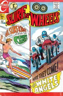 """Le premier numéro de """"Surf n' Wheels"""" 1969"""